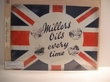 Millers Oils emaille bord 30x40 cm classic flag Nieuw